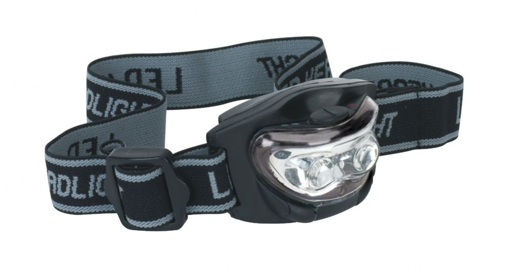 3 LED Headband Torch